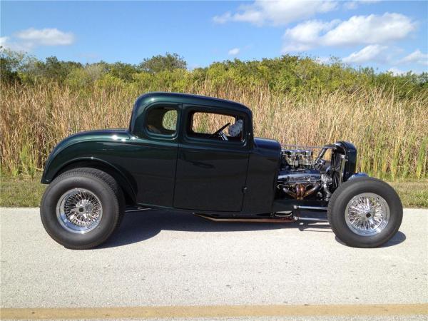 1932 FORD 5 WINDOW CUSTOM COUPE4