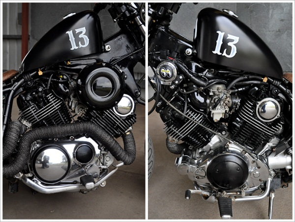 "'91 Yamaha XV 1100 - ""No. 13""4"